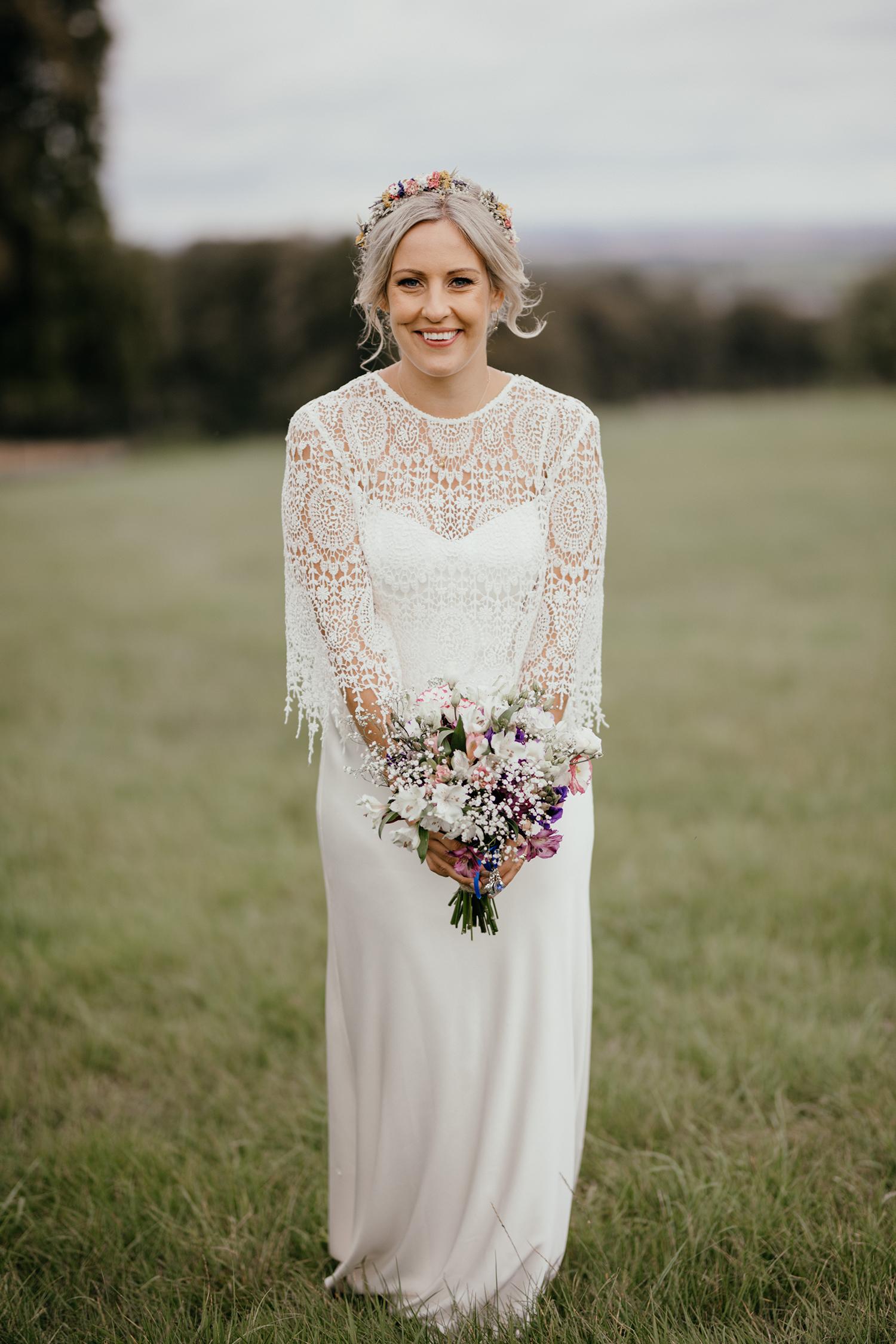 bride portrait by ellenj